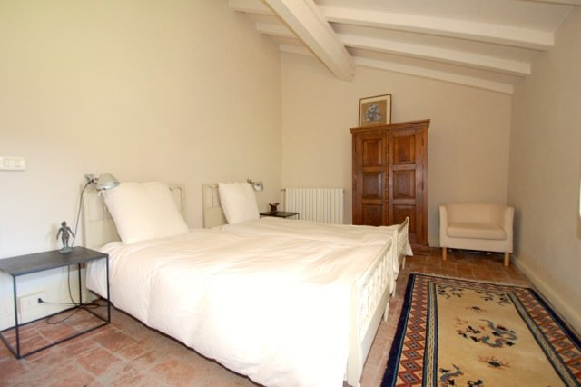 Twin bedroom - possible to rearrange the beds to create a double bed.