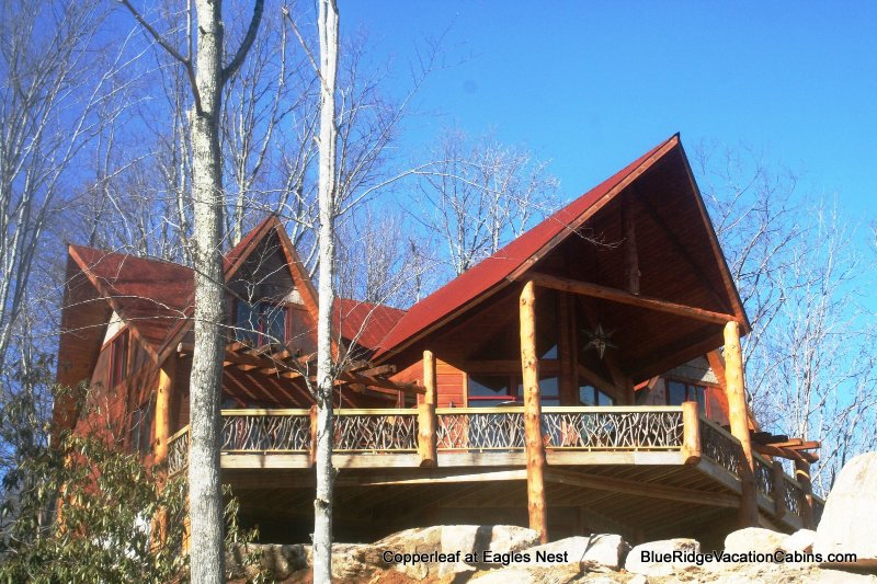 Walk to the North Pavillion, trails and helipads from this amazing new custom lodge in Eagles Nest designed by renowned architect Wayne Ferrell.