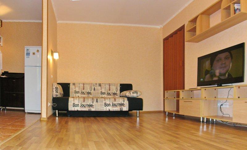 Светлая двухкомнатная квартира на Севастопольском проспекте, casa vacanza a Grigorchikovo