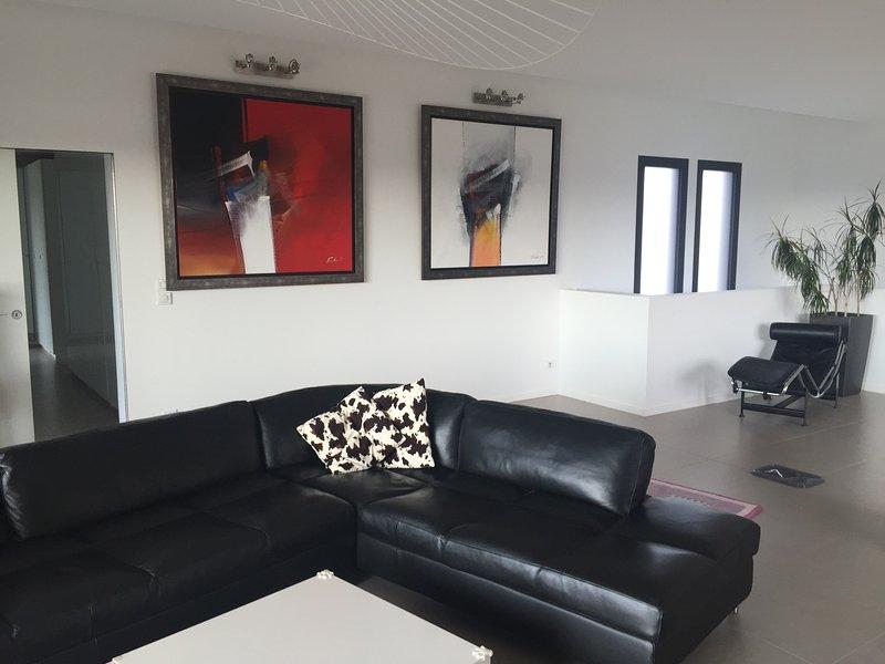 sala de estar + sala de jantar, 90m2
