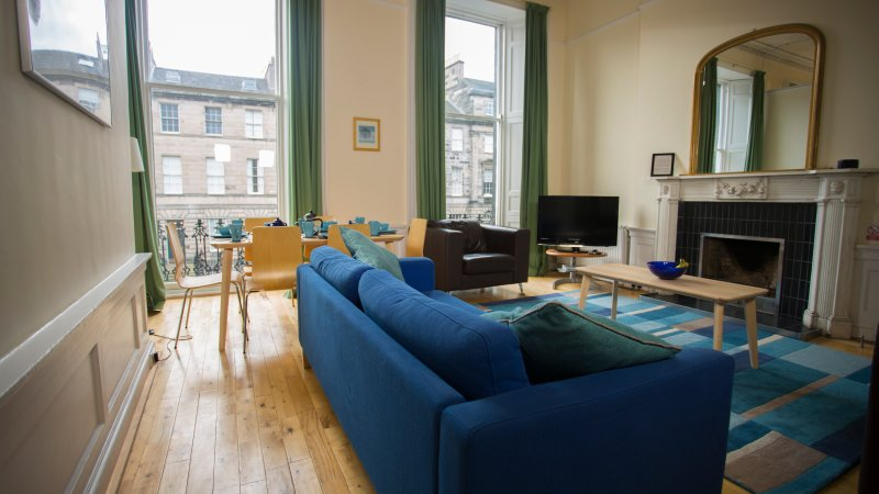 lounge dining with conservation area views