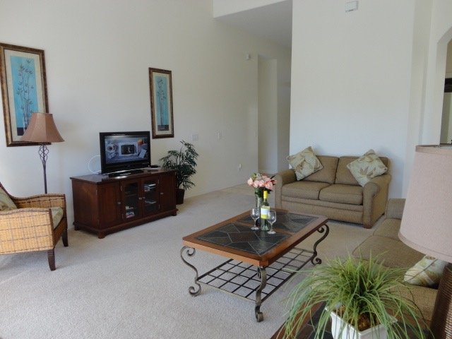 Family Room including DVD player & Cable TV.