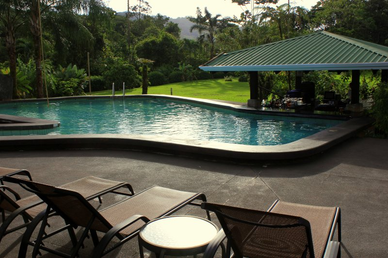 Hot Springs pool på hotellet