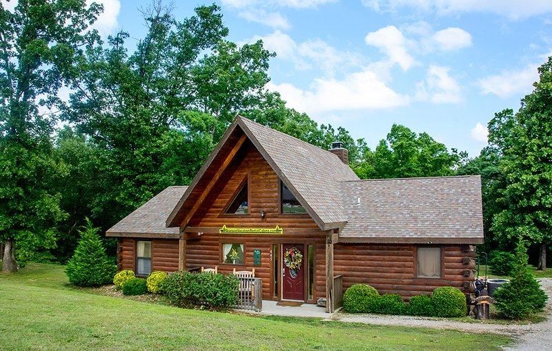 Wahre Log Home Experience, 3 Schlafzimmer, 2 Badezimmer