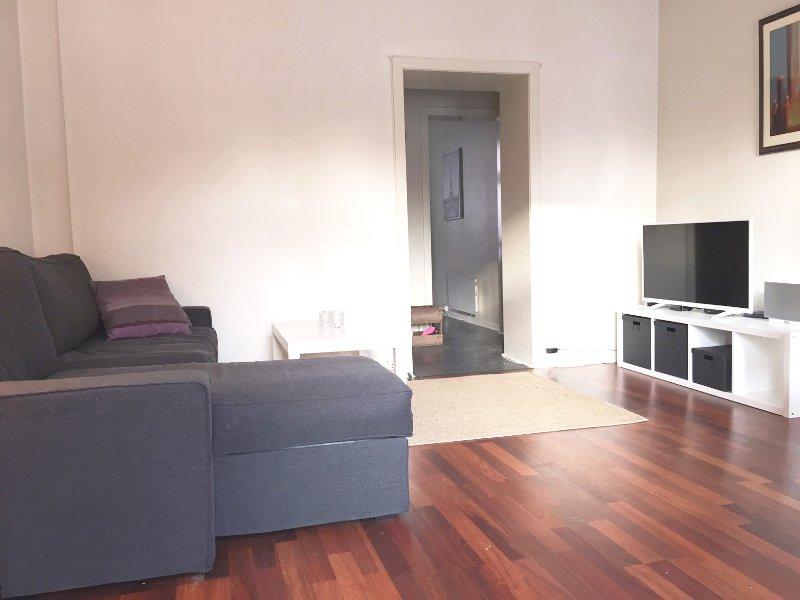 Nice and comfortable living room.