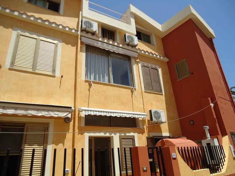 Casa centrale indipendente, location de vacances à Villasimius