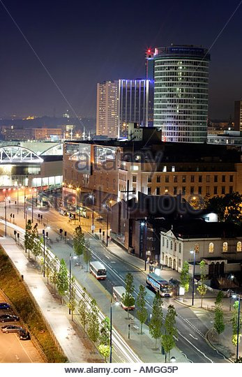 View Of Birmingham City Centre From My Apartment