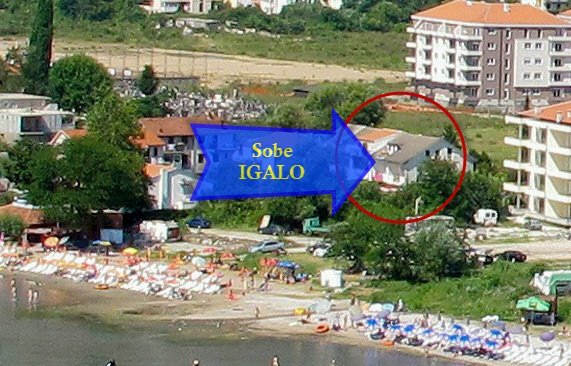 Sobe IGALO, holiday rental in Herceg-Novi Municipality