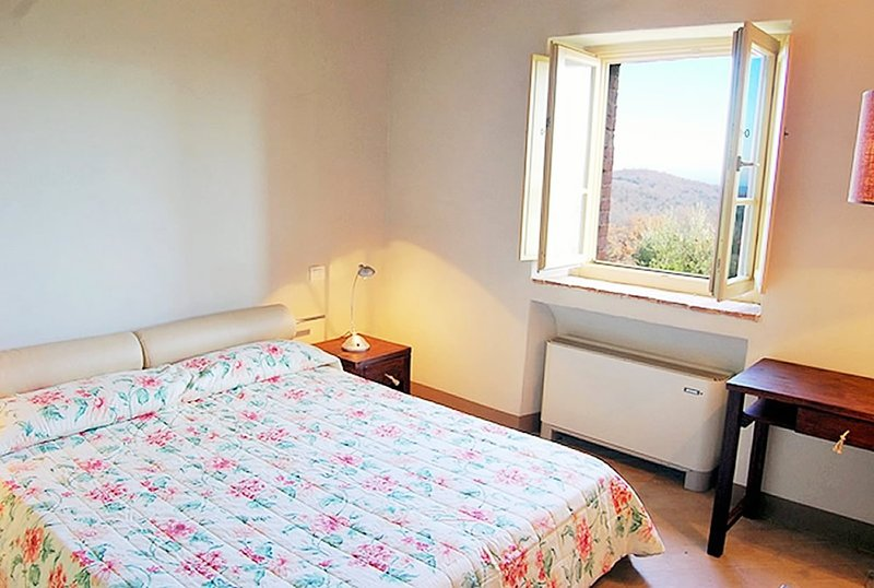 Double bedroom with beautiful views of the surrounding countryside