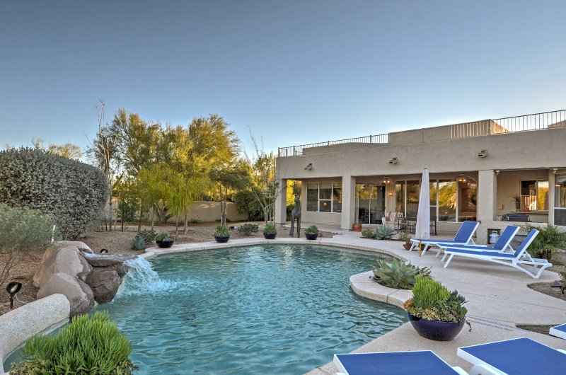 Dive into adventure at this 4-bedroom, 2.5-bath Scottsdale vacation rental home.