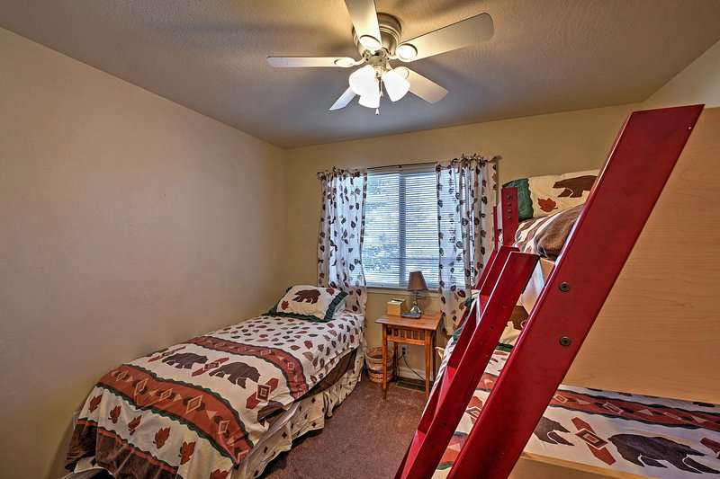 Chaque chambre dispose d'un ensemble distinct de draps!