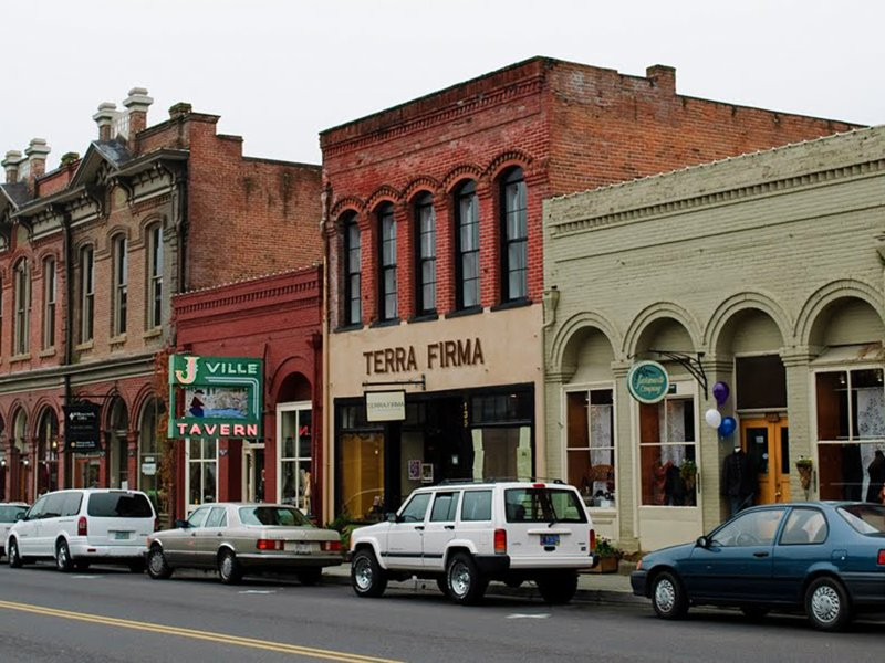 Check Out the Quaint, Historic Town of Jacksonville - About 45 Minutes Away. History, Hiking, Shops.