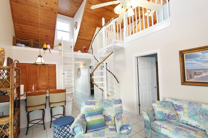 Third Floor Open Living Area - Kitchen