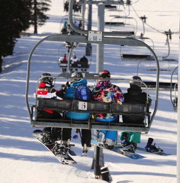 Many world class ski resorts nearby