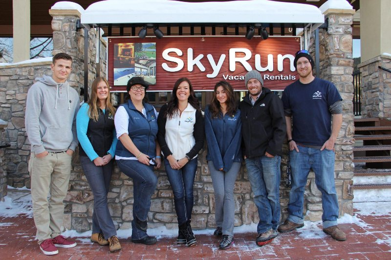SkyRun's full time staff - Our friendly and knowledgeable staff is ready to help you plan your perfect mountain vacation.