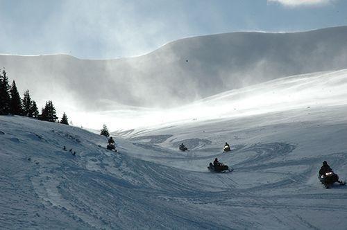 Many winter activities nearby