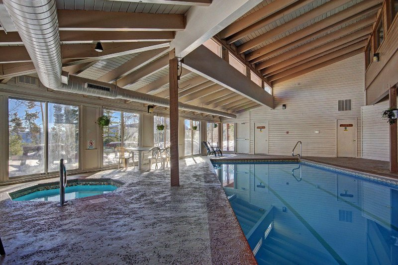 Hot tubs and pool - Access to hot tubs and pool on same level as condo. No need to go outside to access clubhouse.