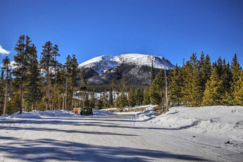 Stunning mountain setting