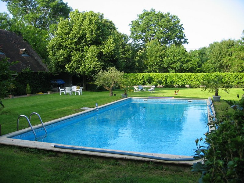 Amazing house with shared pool, holiday rental in Veigne