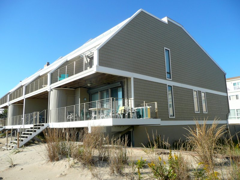 Ocean Spirit, sits right on the Sand Dunes, the ocean beach is your back yard.