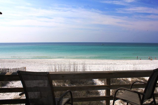 Beachfront townhomewith amazing gulf views & PRIVATE beach access!!, vacation rental in Miramar Beach