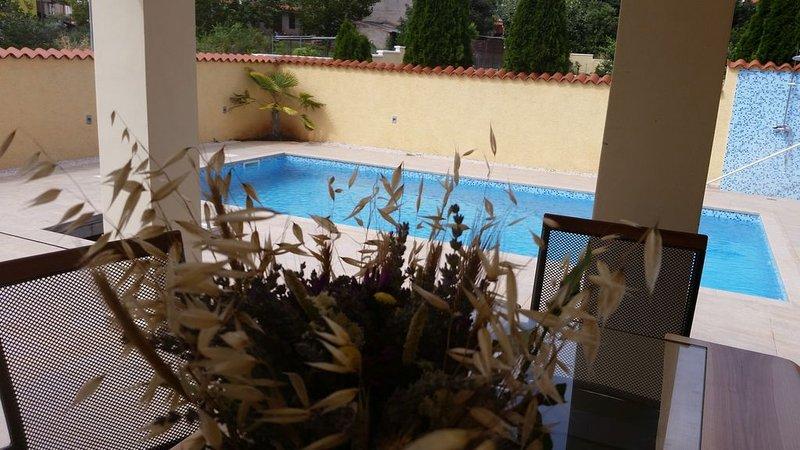 Beautiful Villa Rubina with pool, holiday rental in Pavicini