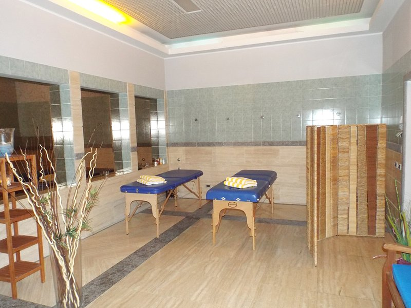 Treat yourself to a massage, relax & unwind in the wellness area