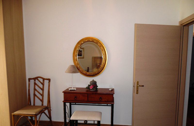 detail from twin bedroom