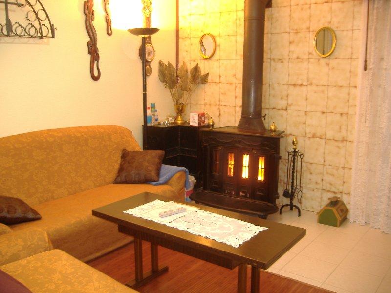Nice house with swimming-pool, holiday rental in Gomezserracin