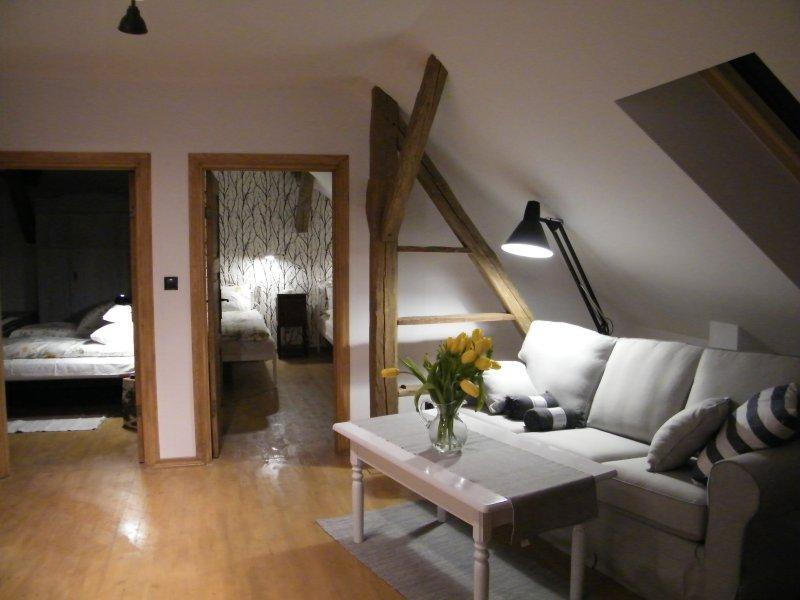 Apartment Weranda, vacation rental in Szwalk