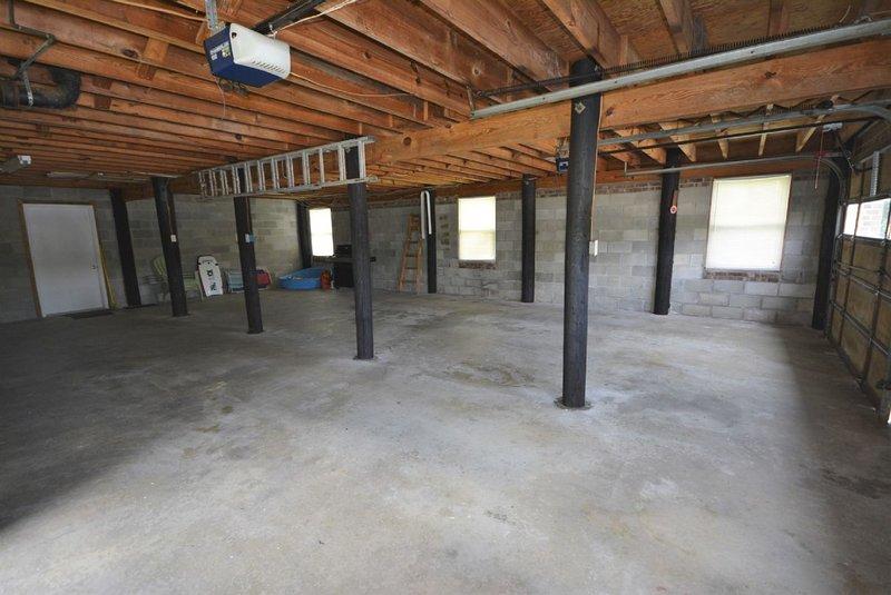Downstairs Garage