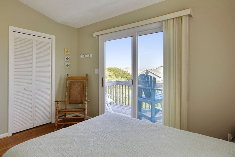 Fourth Bedroom with Private Deck