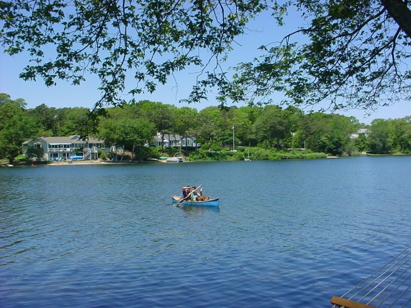 Cape Cod, Centerville, Waterfront, Long Pond Has Cable