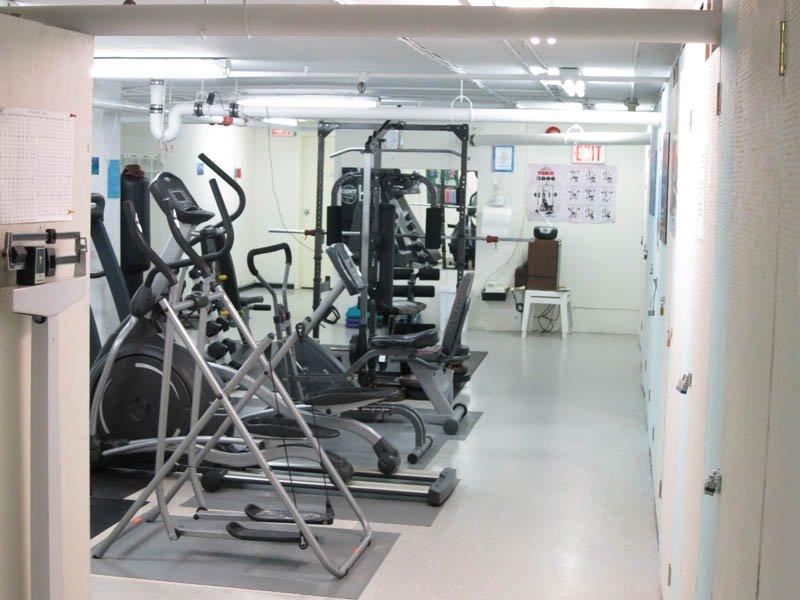 Gym at Lake Banook Woods in Dartmouth
