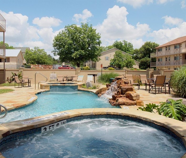 Waterwheel L-203-Courtyard Pool and Hot Tub
