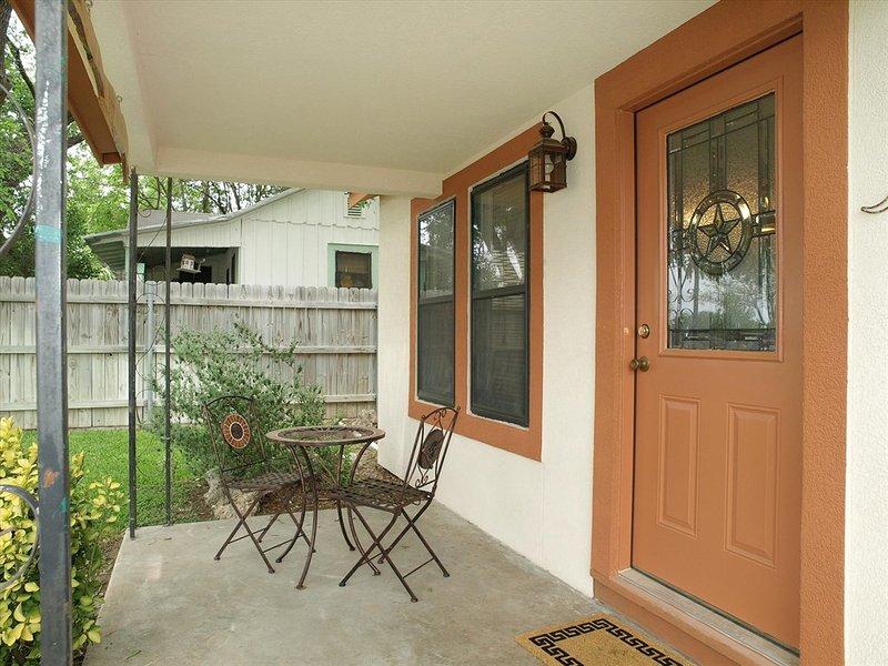 Grandpa Seidel House-Front Porch