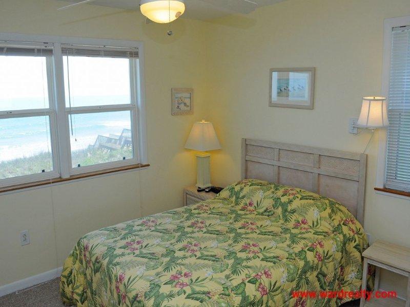 2nd Floor South Oceanfront Queen Bedroom