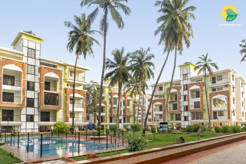 One  BHK CANDOLIM Apt 1 KM away from beach, holiday rental in Candolim