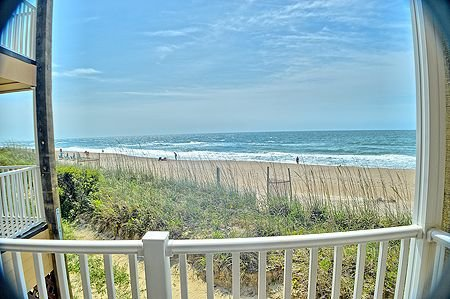 View from private balcony - Direct Ocean Front