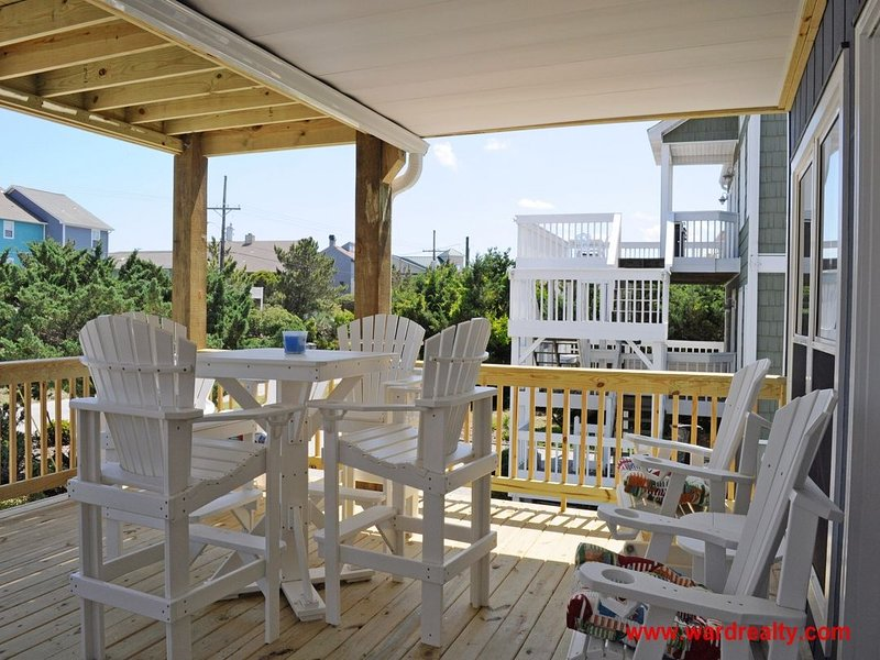 1st Floor Covered Deck & Covered Porch