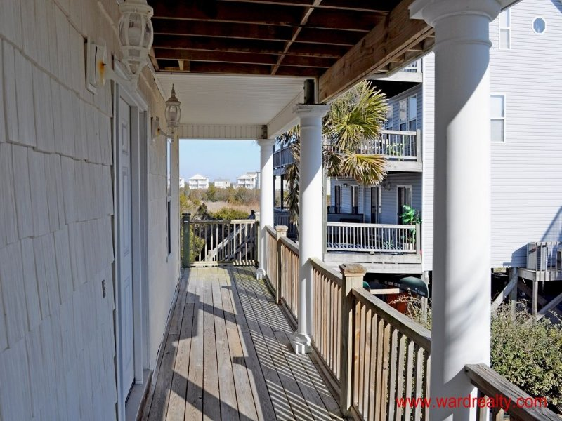 1st Floor Covered Deck/Porch at Entry