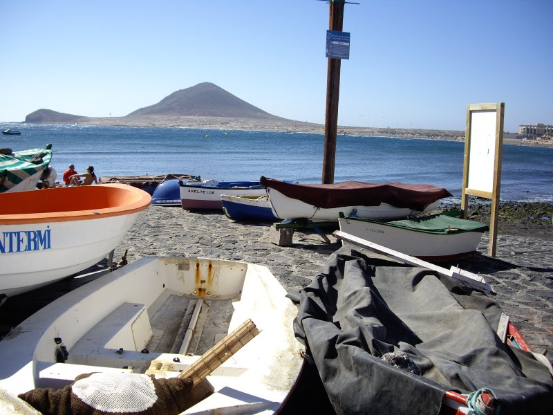 El Medano-Bungalow frente al mar, 1ª línea, 2 terrazas, wi-fi, TV Sat., Garaje, casa vacanza a El Medano