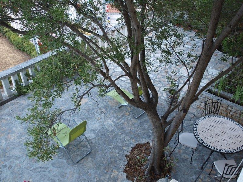 A1 (2 + 1): terrasse de jardin