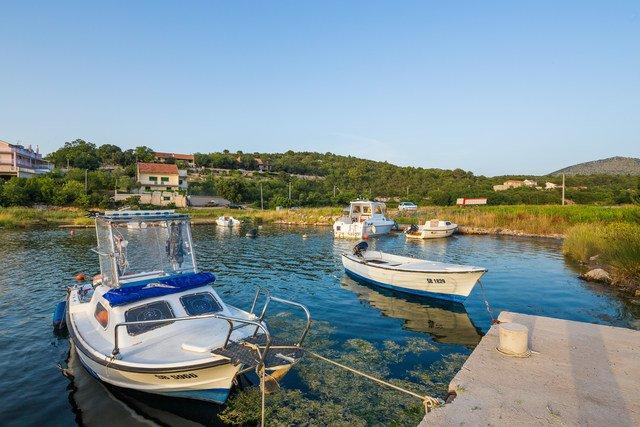Pool villa de vacances à louer à Bilice, région Sibenik, Croatie