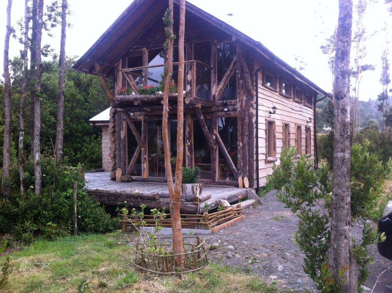 Mi casa del Lago Natri, alquiler vacacional en Isla de Chiloé