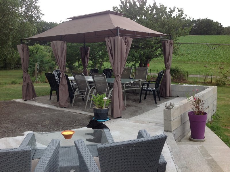 Your gazebo for shade in the hot sunny days