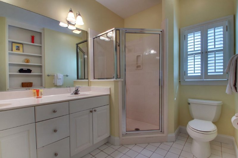 Guest Bedroom With Great Stand Up Shower!