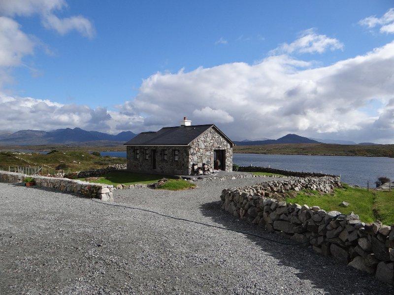 Vista frontal del Cill Cottage