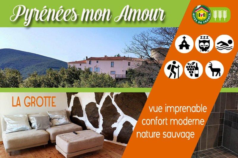 Cave cottage for 2 #gitepyreneesorientales #giteroussillon gite66 # # # gitefenouillèdes