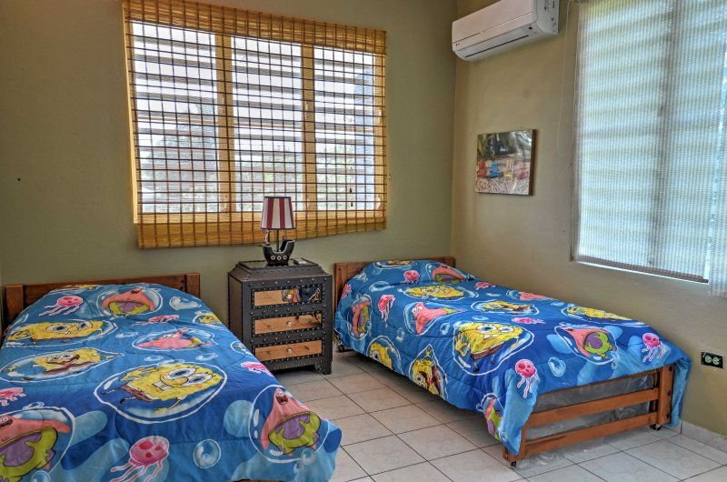 The kids will love this Spongebob room!